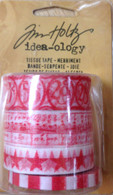 Tim Holtz Tissue Tape - Merriment