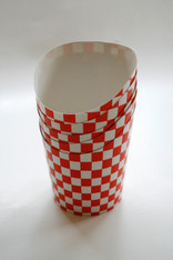 Red and White Checkered French Fries Cups