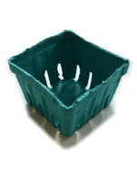 Berry Baskets - Teal - One Pint Size - Pack of 10