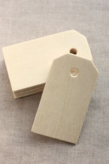 Birch Unfinished Wood Tag