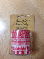 Tim Holtz Tissue Tape - Merriment - 4 Rolls 16 Yards Each