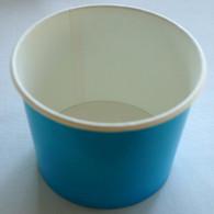 Ice Cream Cups Bright Blue 16 oz. Paper