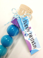 Favor Tags - Slender Message Tags for Tube Favors