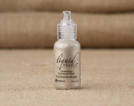 Tim Holtz Ranger Liquid Pearl Paints - Platinum Pearl