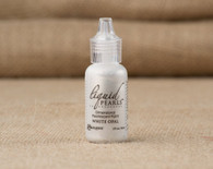 Tim Holtz Ranger Liquid Pearl Paints - White Opal