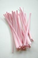 Twist Ties - Baby Pink