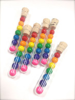 Tiny Gumball Filled Favor Tubes - Quantity 20