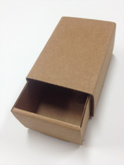 Heavy Kraft Cardboard Boxes - Slide Top - Perfect Size for Gifts or Packaging