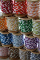 Full Color Set - Baker's Twine on 5 Yard Wooden Spools - 120 Yards Total - 24 Color Set