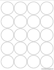 Template - 2 Inch Round Labels