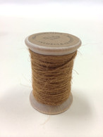 Burlap Twine - 30 Yards on Wooden Spool - Antiuqe Gold Color Jute