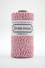 Divine Twine Baker's Twine - Red - Cherry