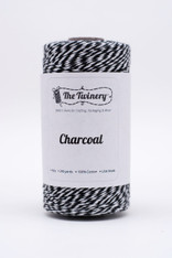 Baker's Twine - The Twinery - Charcoal - Black 4 Ply Twine