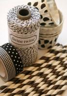 Divine Twine Baker's Twine - Licorice - Black