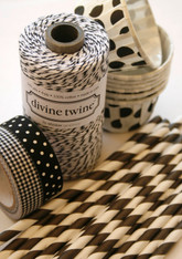 Divine Twine Baker's Twine - Licorice - Black