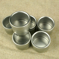Round Window Tins - 1 9/16 x 1 inch