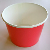 Ice Cream Cups Rosy Red 16 oz.