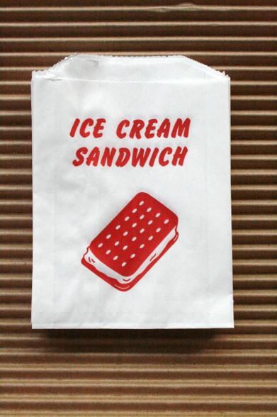Ice Cream Sandwich Bags Vintage Style