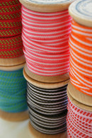 Grosgrain Ribbon Color Set - 60 Yards on Wooden Spools - (5mm) 3/16 Inch Width