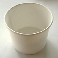 Ice Cream Cups White 16 oz. paper