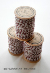 Packaging Twine - Brown - 30 Yards on Wooden Spool