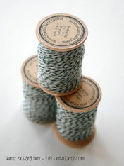 Packaging Twine - Hunter Green - 30 Yards on Wooden Spool