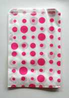 Traditional Sweet Shop Random Dots Paper Bag - Pink Dots