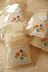 Lip Adapter or Hanger - Adhesive 1 Inch Square for Earring Card Display