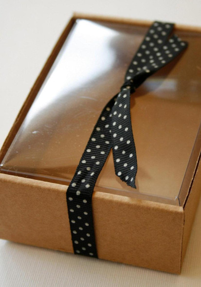 Celebrate It Occasions Favor Boxes With Lids Instructions : Heavy kraft cardboard boxes set of clear top perfect