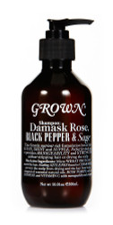 Shampoo: Damask Rose, Black Pepper & Sage 300ml/10.1oz