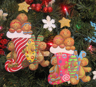 Ginger Joy Ornament Pattern Packet