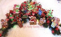 Ginger Christmas Ornaments Set of 5 Pattern Packet