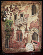 Love Romeo & Juliette Balcony Verona, Italy Pattern Packet