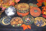 Halloween Coaster Set Pattern Packet