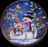 Frosty Friends Stepping Stone Pattern Packet