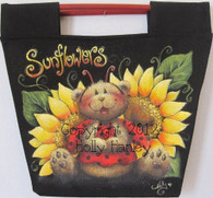 Sunflowers Canvas Bag E Packet