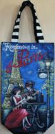 Rendezvous in Paris Wine Bag Pattern Packet