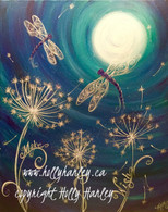 Dragonfly Moon Pattern Packet
