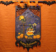 My Pretties Candy Corn Witch Pattern Packet