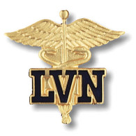 LVN Caduceus Licensed Vocational Nurse Pin