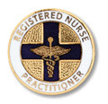 Registered Nurse Practitioner Emblem Pin
