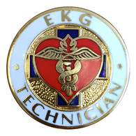 EMI EKG Technician Pin