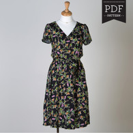 Yaletown Dress and Blouse by Sewaholic Patterns