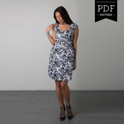 Cambie Dress by Sewaholic Patterns, View A