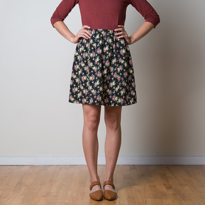 Rae Skirt by Sewaholic Patterns, View A