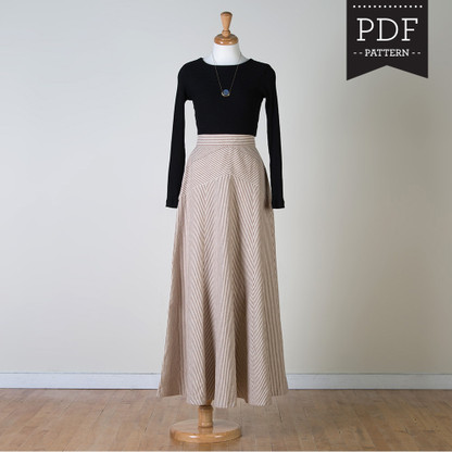 Gabriola Skirt by Sewaholic Patterns