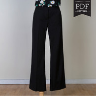 Thurlow Trousers by Sewaholic Patterns, View A
