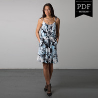 Saltspring Dress by Sewaholic Patterns, View A