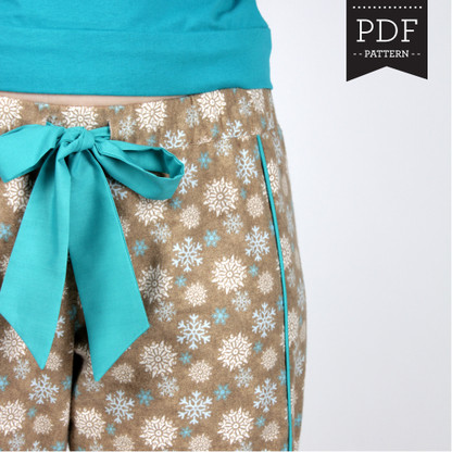 Tofino Pants by Sewaholic Patterns, View A
