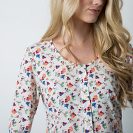 Oakridge Blouse by Sewaholic Patterns, View C